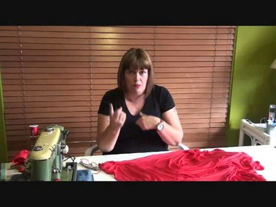 HotPatterns tutorial for the Fast & Fabulous Mariposa Tunic-Dress