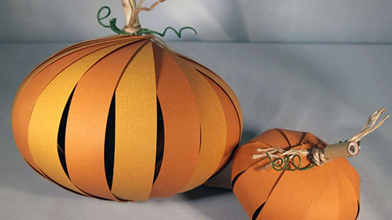 How To Create A 3D Paper Pumpkin - DIY Crafts Tutorial - Guidecentral