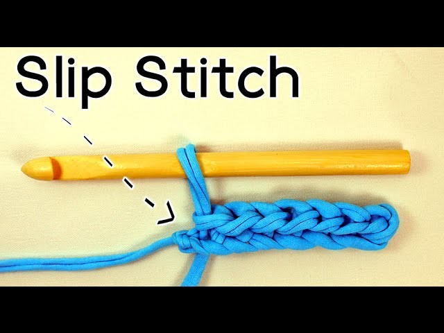 HOW TO CROCHET THE SLIP STITCH   Patrones Valhalla ENG