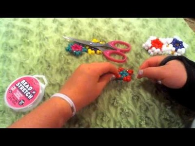 How to make a kandi.pony bead star cuff