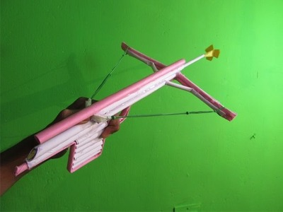 How to Make a Paper Crossbow (Hooka)- Easy Tutorials
