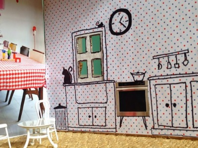 How To Make an Adorable Cardboard Dollhouse - DIY Home Tutorial - Guidecentral