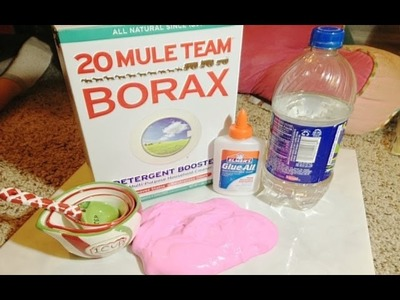 How to make Homemade Flubber.Putty!