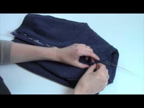 How-To: Sew in a Zipper