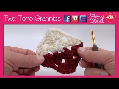 Left Hand: 2 Color Granny Squares