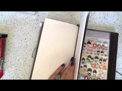 Midori Traveler's Notebook Introduction and How To