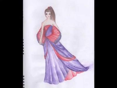 My Fashion Portfolio Designs