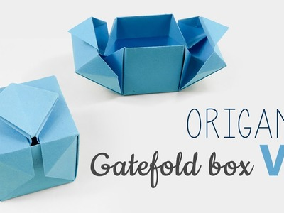 Origami Gatefold Box Tutorial V2