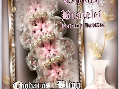 Rainbow Loom Band Cayena Bracelet tutorial. How to
