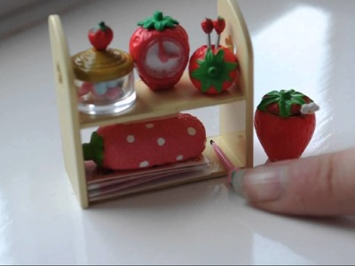 Re-ment miniatures collection- Strawberry set - Japanese - part 5