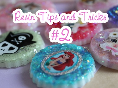 Resin Tips and Tricks #2 - Backgrounds, colouring, mixing powders, keeping clean and eyescrews