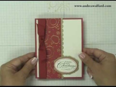 Stampin' Up! Tutorial - Sparkle & Shine Card