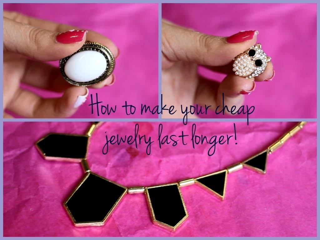 Tip: Como hacer que la joyeria barata no se oxide ♥