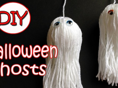 VERY EASY!! Halloween decorations - Ghosts - Ana | DIY Crafts