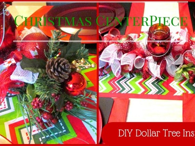 A Very Merry Dollar Tree Challenge ~ DIY Christmas Centerpieces~ Collab