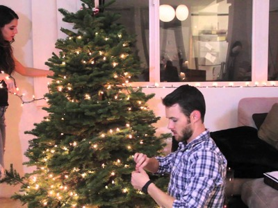 Christmas Decorating With Byron | Rachel Talbott
