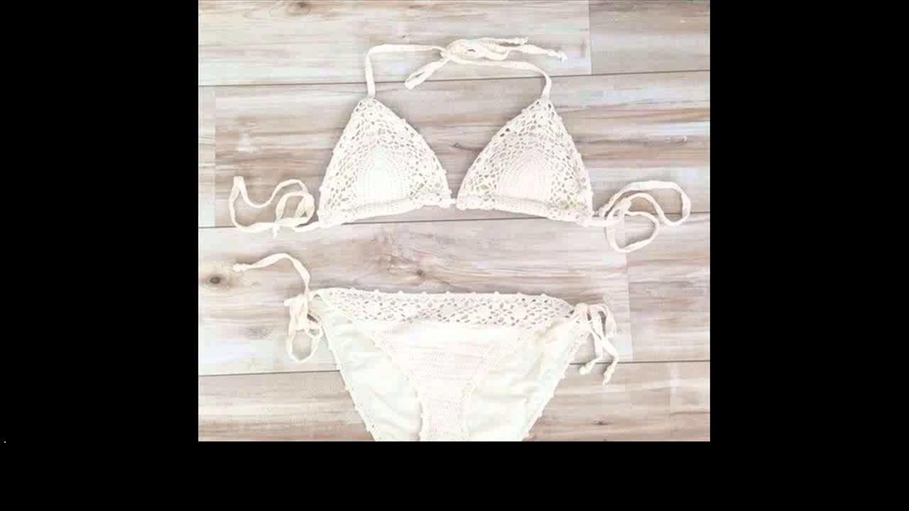 Crochet bikini baby