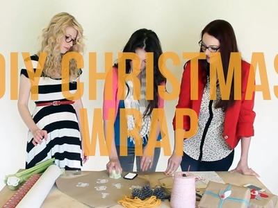 DIY Christmas Wrap