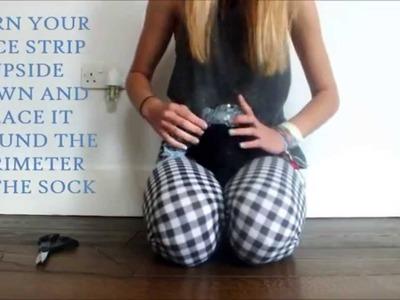DIY: Frilly Socks