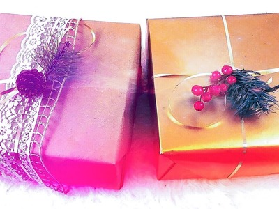 DIY: Gift Wrapping Ideas - maricarljanah