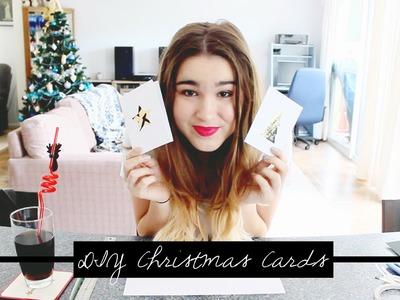 DIY: How to make Die-Cut Christmas Cards