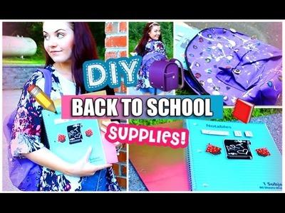 DIY School Supplies!   #BTSwithAmanda