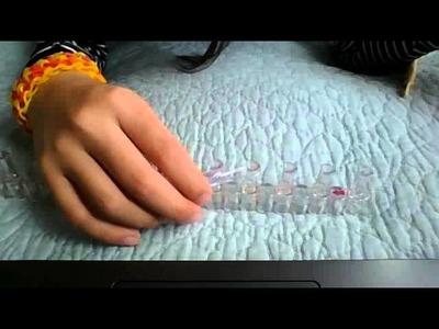 Dragon scale rainbow loom 4 pin