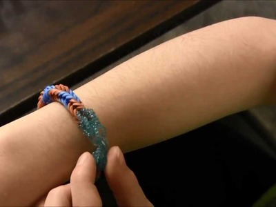 FishTail Stretch Band Bracelet (Rainbow Loom) - Easy