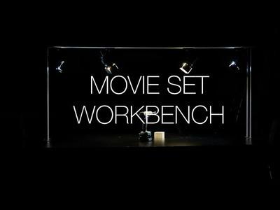 ⇒ From Bookshelf to Workbench Movie Set - DIY Recycling