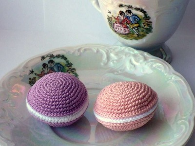 How To Create A Crochet French Sweet Macaron - DIY Crafts Tutorial - Guidecentral