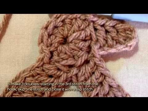 How To Crochet A Lovely Gingerbread Man Cookie - DIY Crafts Tutorial - Guidecentral