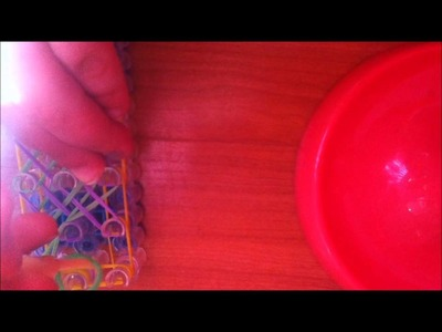 How to make a chinese finger trap on rainbow loom