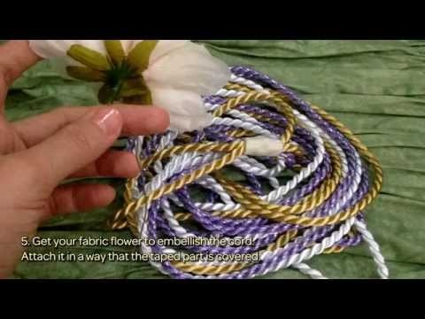 How To Make A Floral Embellished Cord - DIY Crafts Tutorial - Guidecentral