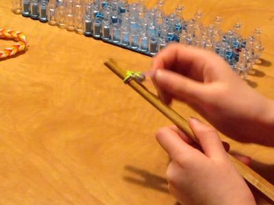 How to make a rainbow loom fishtail bracelet HD