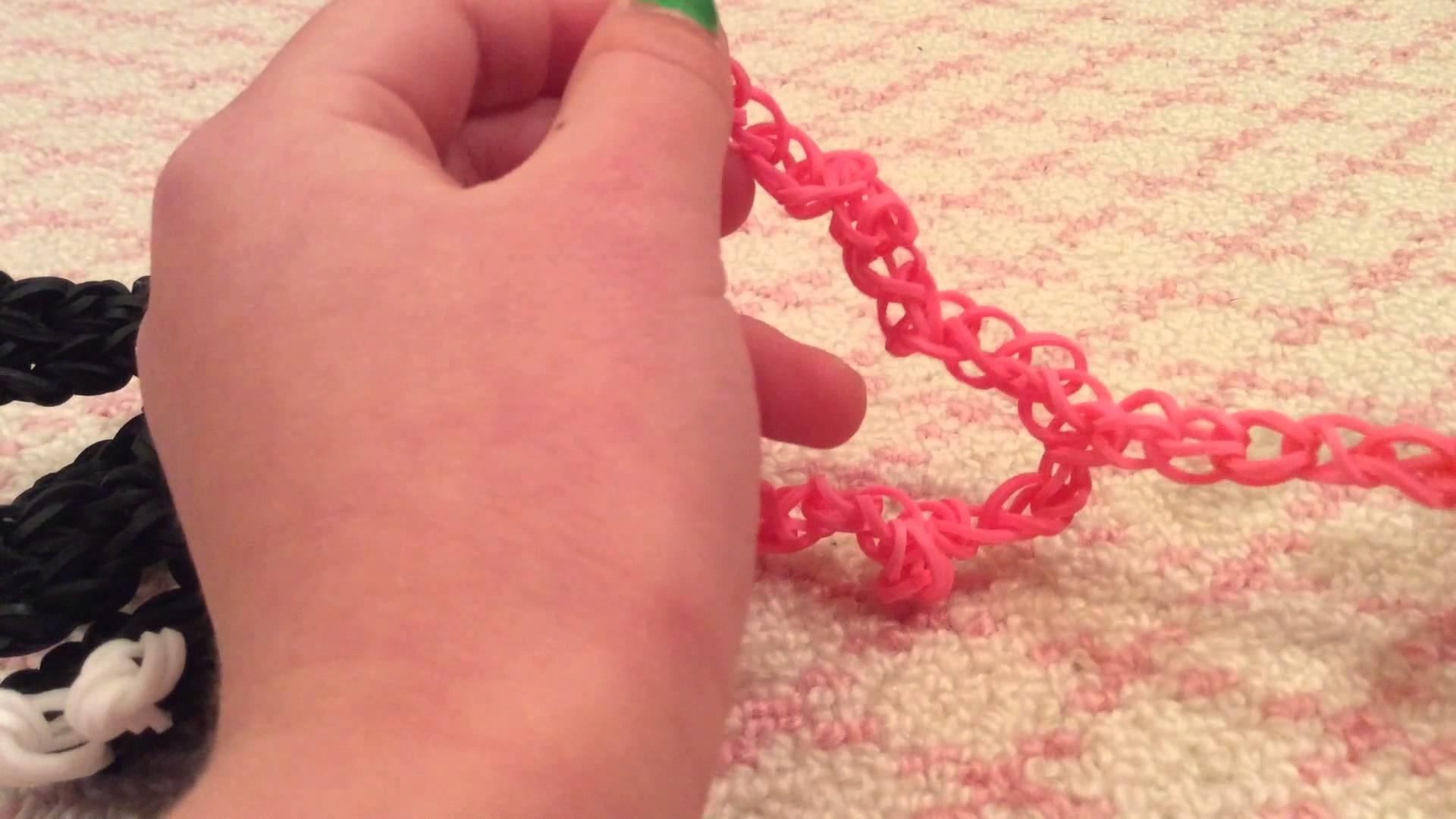 How to make a rainbow loom leash