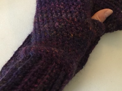 How To Make Warm Crochet Fingerless Gloves - DIY Style Tutorial - Guidecentral