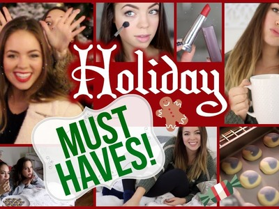 My Holiday & Winter Must Haves!! Food, Fashion, Beauty & MORE