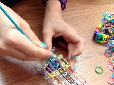 Rainbow loom bracelet en français échelle