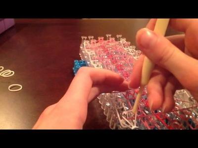 Rainbow loom brand new penta-single bracelet tutorial