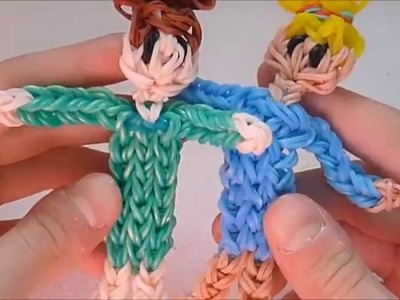 Rainbow Loom Little Girl Figurine Tutorial by Ribbistar