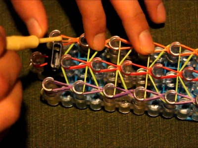 RayMoransWristbands Presents: How to make a Rainbow Loom Bracelet without Clip (Buckle)