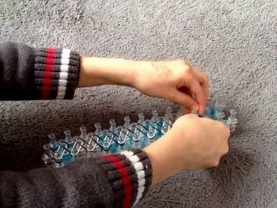 Tuto pour faire un bracelet Rainbow Loom Simple