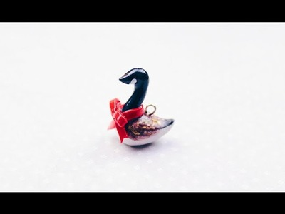 Canadian Goose Polymer Clay Tutorial