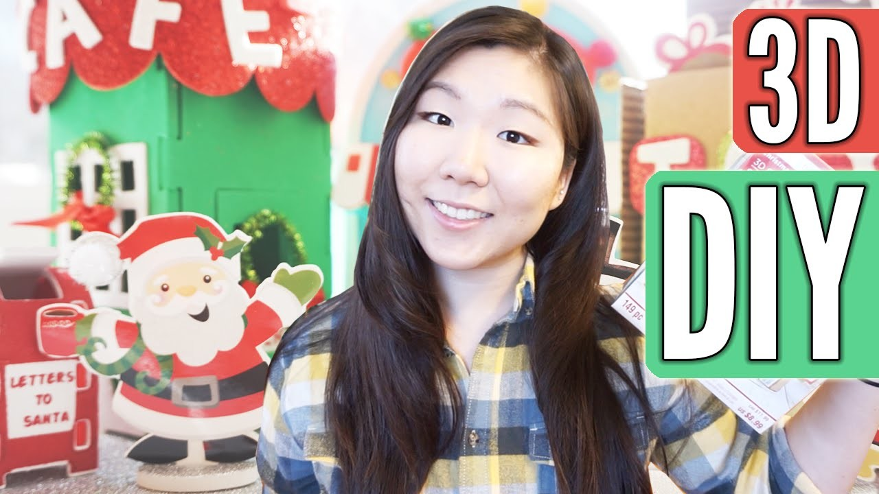 DIY CHRISTMAS DECORATION ║ 3D Craft Kit