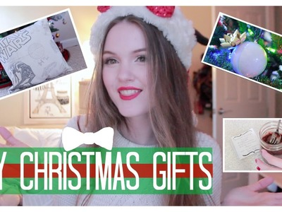 DIY Christmas Gifts: Star Wars pillow, Brownie in a Cup, Bath Bombs! || Easy & Cute