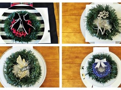 Dollar Tree Christmas DIY | Creative Ways To Use Wreaths