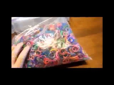How I Organize my Rainbow Loom Rubber Bands! New 2014