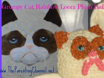 RAINBOW LOOM GRUMPY CAT PLUSH BALL GANZ