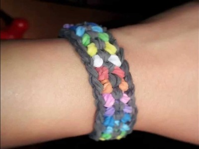 Snake Belly 1 Loom - Advanced Rainbow Loom Bracelet - Hardest Design