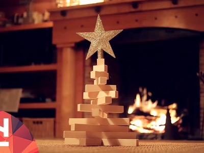 The DIY Factory - Make your own 10$ Christmas Tree